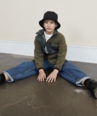 Børnemodeller på fotoskydning med børnetøjsmærket MOLO